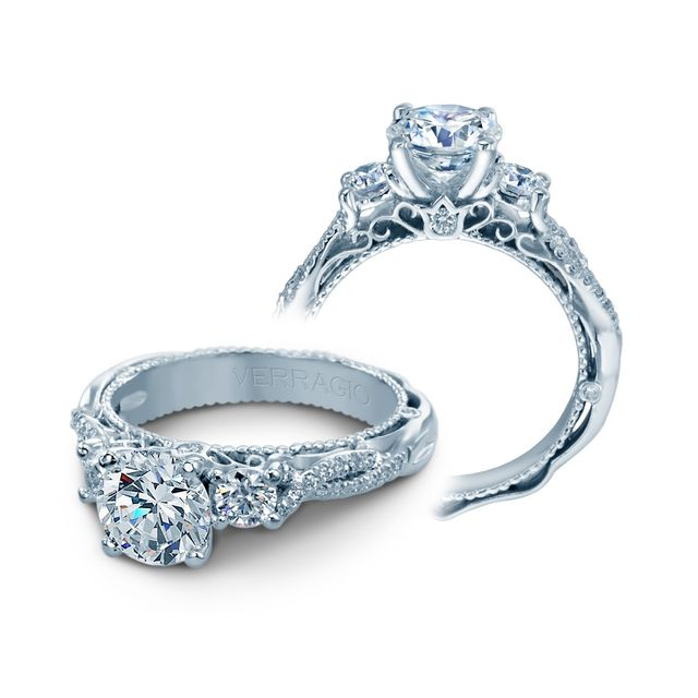 Raymond Lee Jewelers Verragio Venetian Diamond Engagement Ring Setting