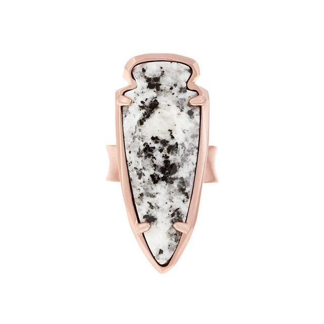 Kendra Scott Kenny Ring in Gray Granite