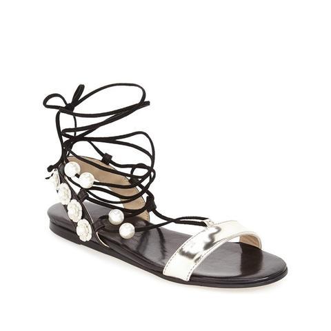 Pearl Gladiator Sandal