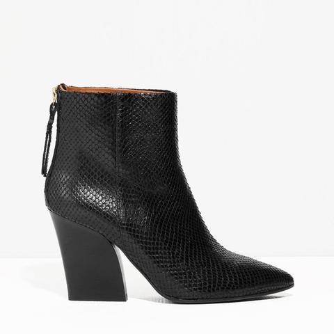 Anaconda Ankle Boots