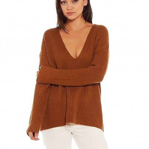 Oversized Structural Rib Sweater