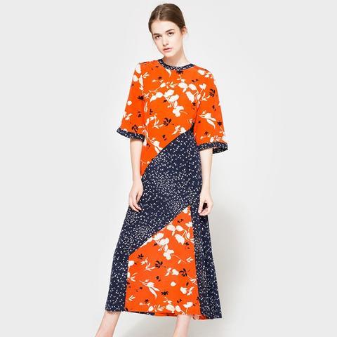 Sachi Silk Maxi Dress