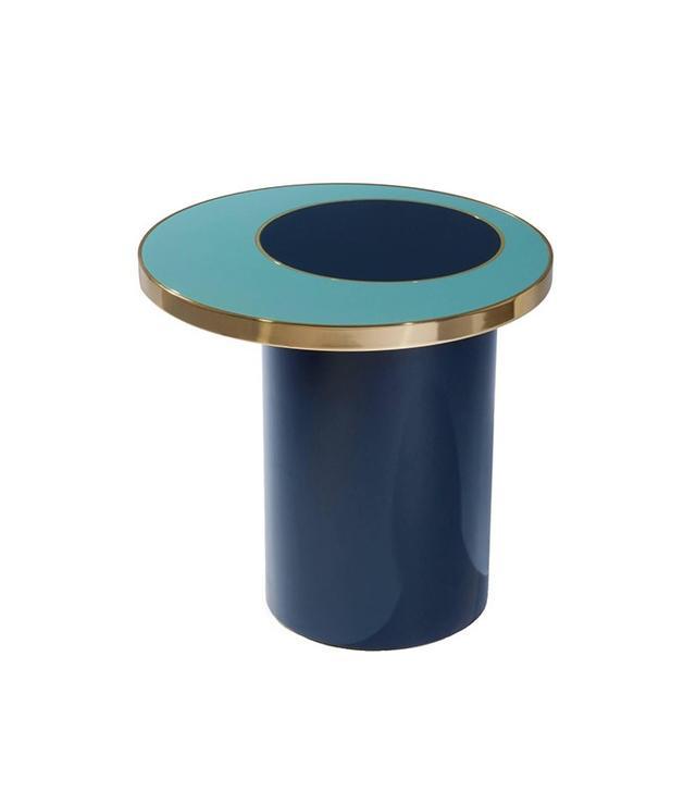 Hervé Langlais Side Table Nenuphar Blue