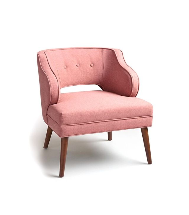 World Market Rose Pink Tyley Chair