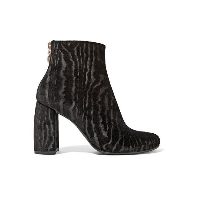 Prada Zebra-Print Calf-Hair Espadrille Slip-Ons