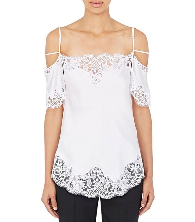 Givenchy Flutter-Sleeve Camisole