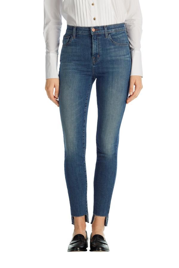 J Brand Carolina Super High Waist Skinny Jean