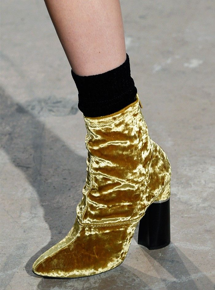 shoe trends autumn/winter 2016