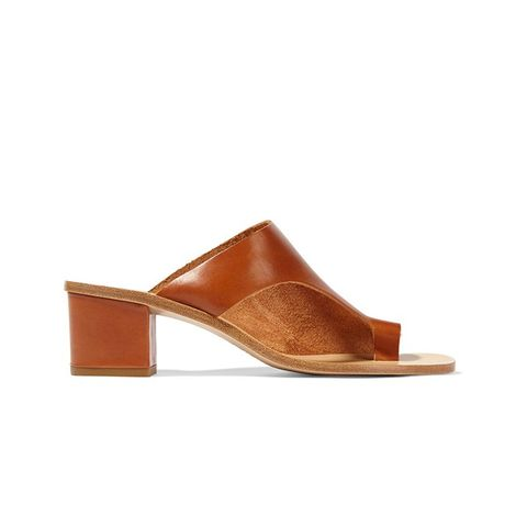 Cyla Cutout Leather Sandals