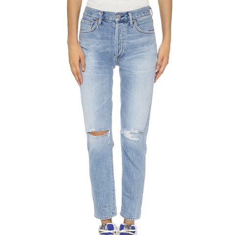 Lilya High Rise Classic Fit Jeans
