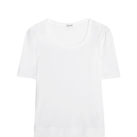 Shrunken Supima Cotton and Micro Modal-Blend Jersey T-Shirt