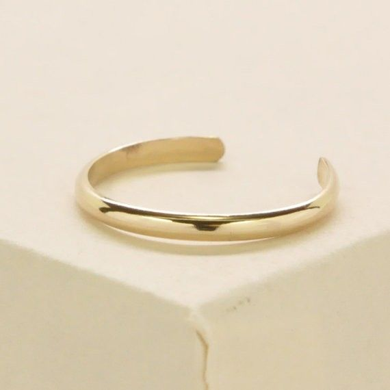 Kristin Noel Designs Gold Toe Ring