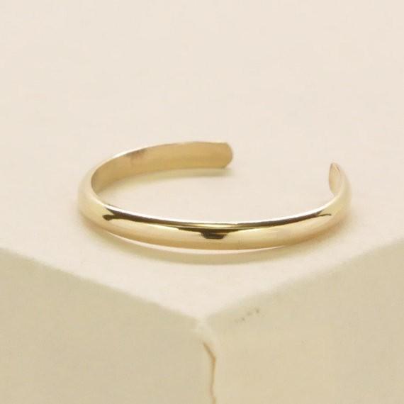 Kristin Noel Designs Gold Toe Ring