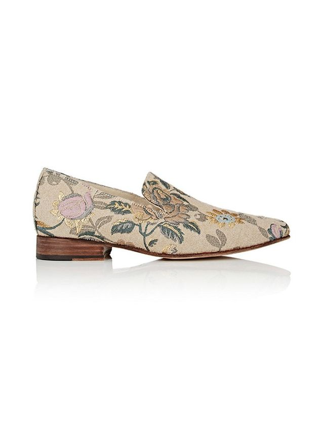 Brock Collection x Esquivel Pointed-Toe Loafers