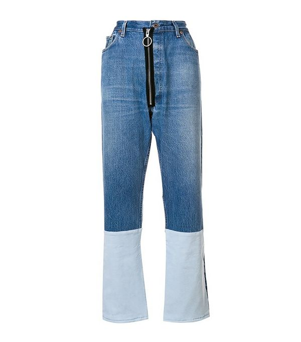 Off-White Deconstructed Jeans