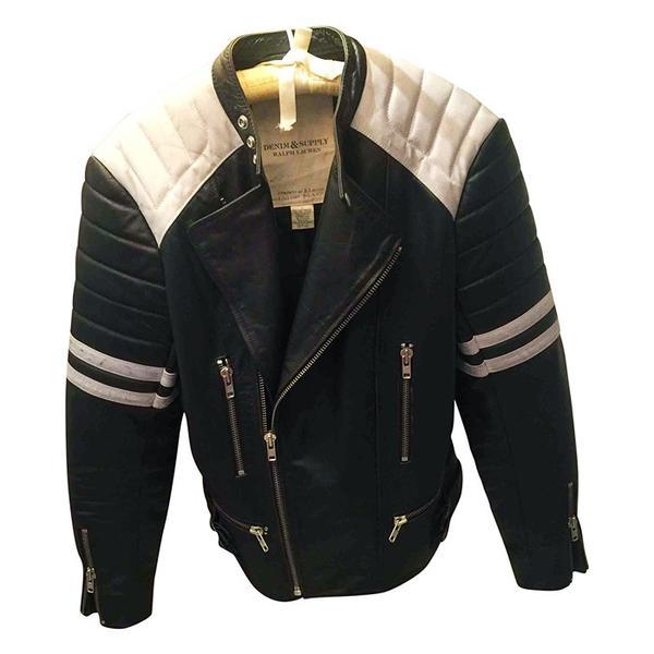 Ralph Lauren Denim & Supply Vintage Leather Jacket