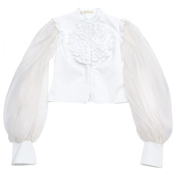 Valentino Vintage White Cotton Top
