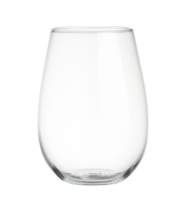 CB2 True Stemless Wine Glass