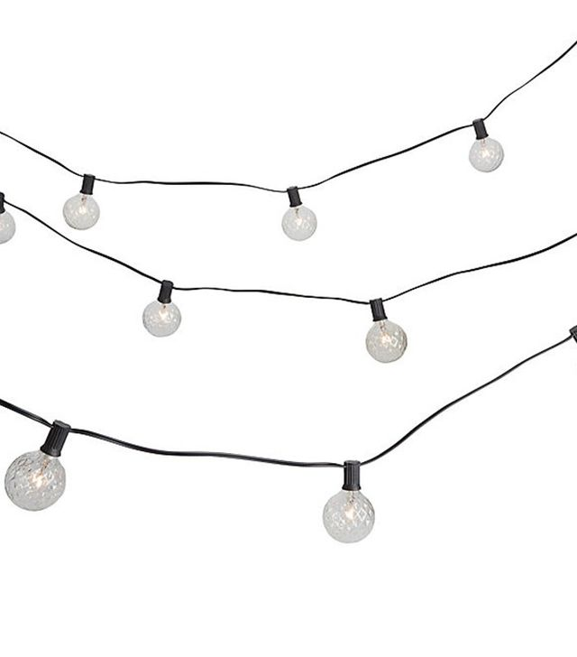 CB2 Cut Glass String Lights