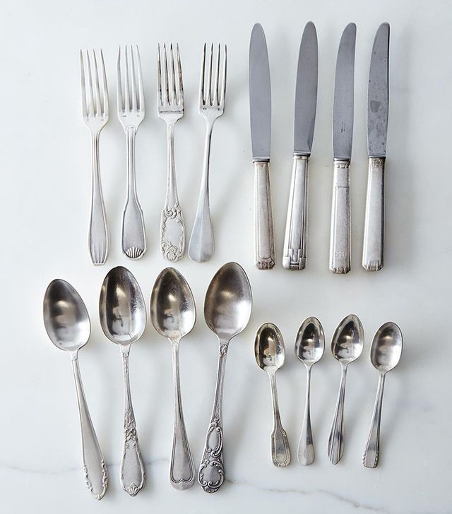 Food 52 Vintage Silver-Plated French Flatware
