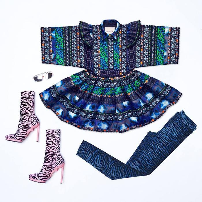 H&M x Kenzo Dress