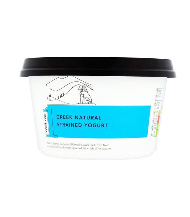 Waitrose Greek Natural Strained Yoghurt