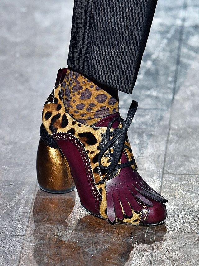 Dries Van Noten F/W 16 shoes