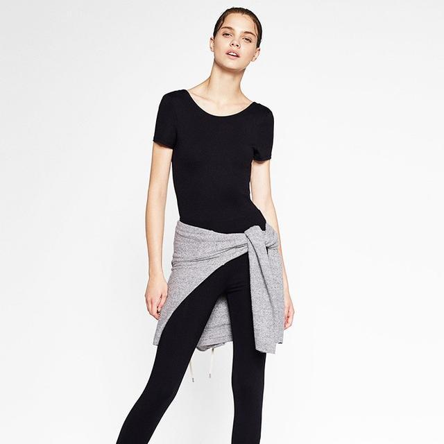 Zara's New Ballerina Leggings Are Very Fall 2016