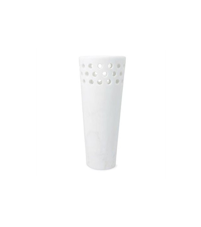 Kelly Wearstler Perforated Marble Vase