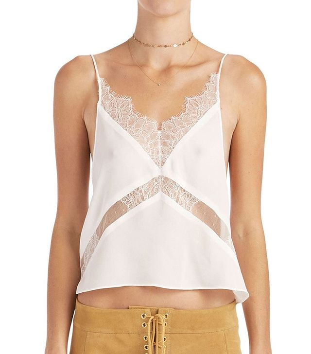 Are You Am I Anabela Lace Camisole
