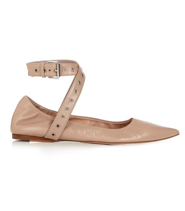 Valentino Love Latch Ballet Flats