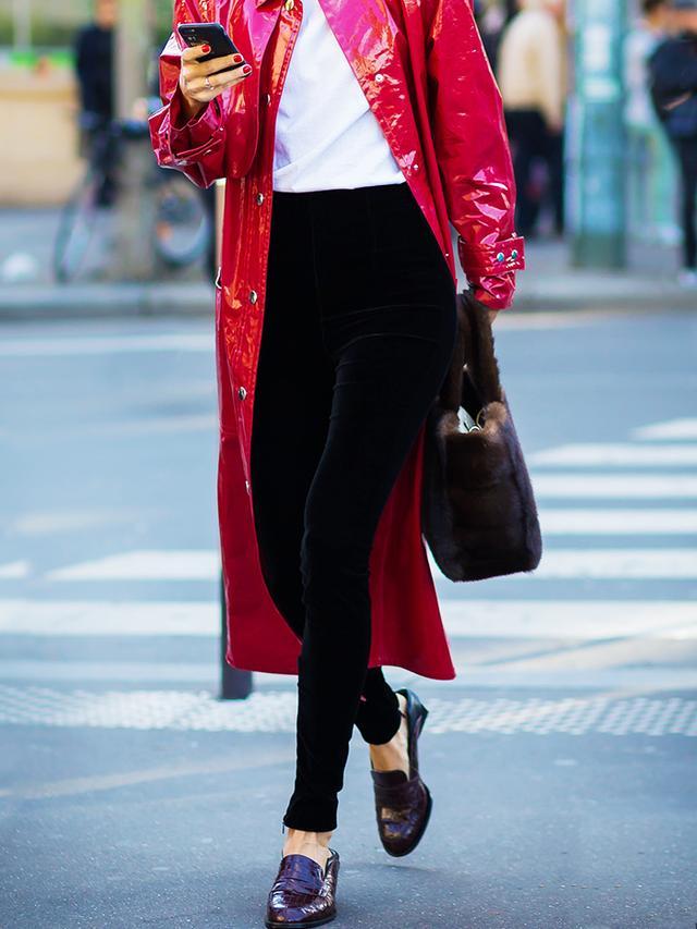 best loafers: Diletta Bonaiuti in loafers