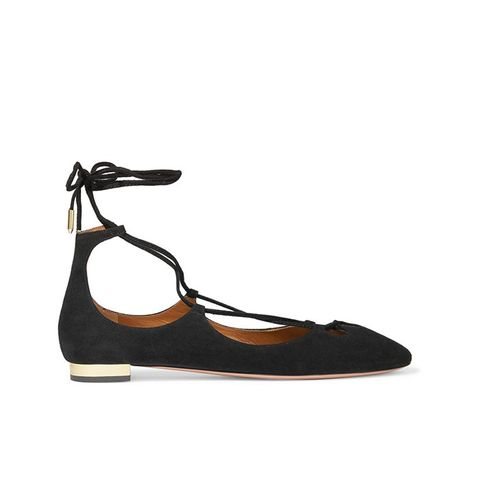 Dancer Suede Ballet Flats