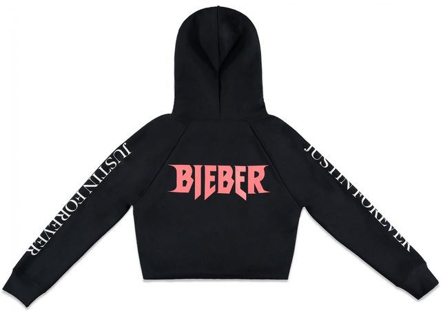 Forever 21 x Justin Bieber Purpose Tour Cropped Hoodie