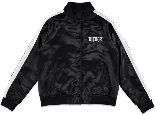 Forever 21 x Justin Bieber Purpose Tour Satin Bomber