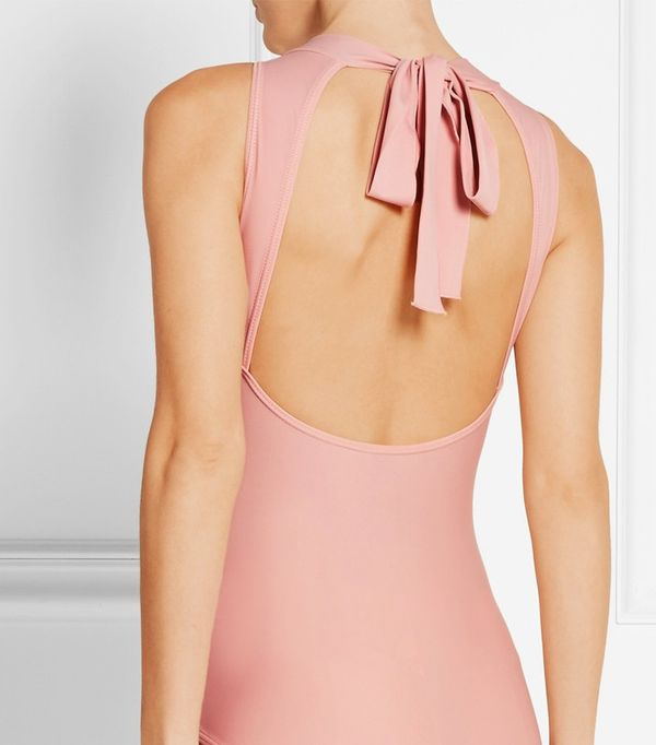 how to wear a body: Ballet Beautiful leotard