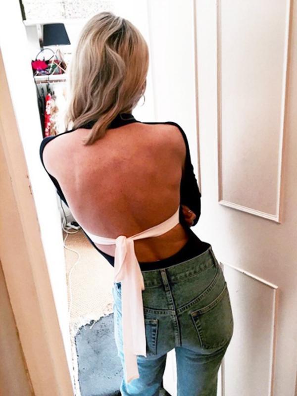 how to wear a body: Pandora Sykes
