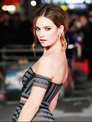 Exclusive: Lily James Takes Us Inside Her Beauty Routine