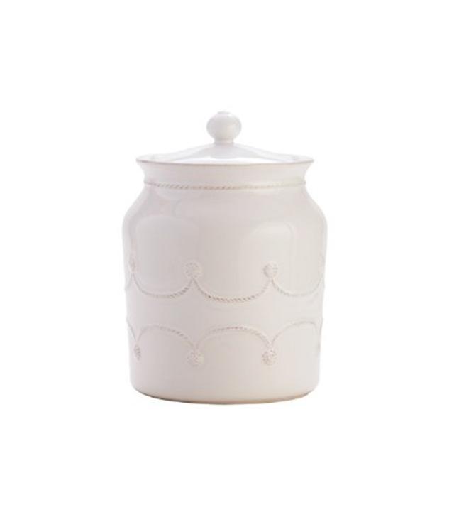 Juliska Berry & Thread Whitewash Cookie Jar