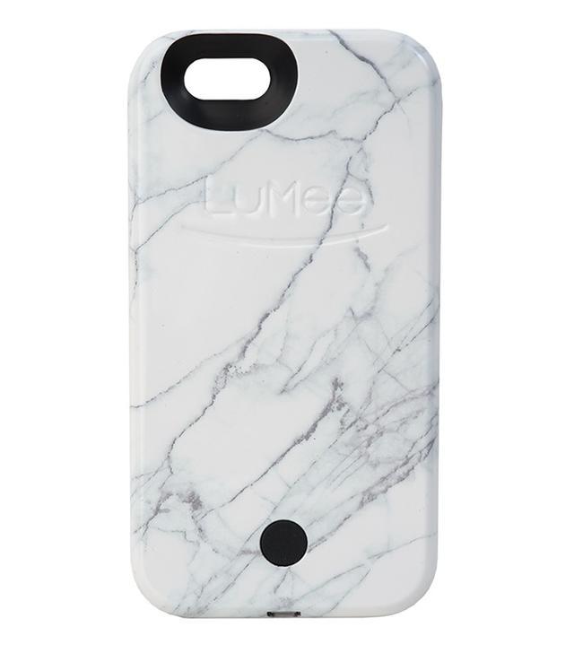 LuMee White Marble iPhone Case