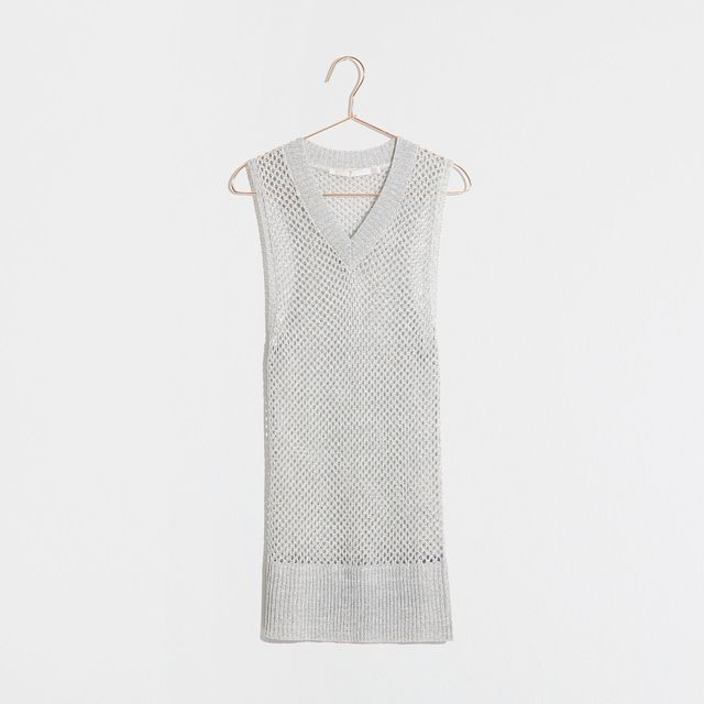 Zara Metallic Sweater