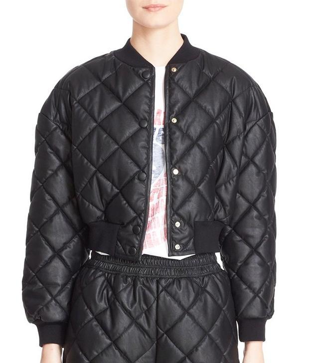 Stella McCartney Crop Quilted Puffer Jacket