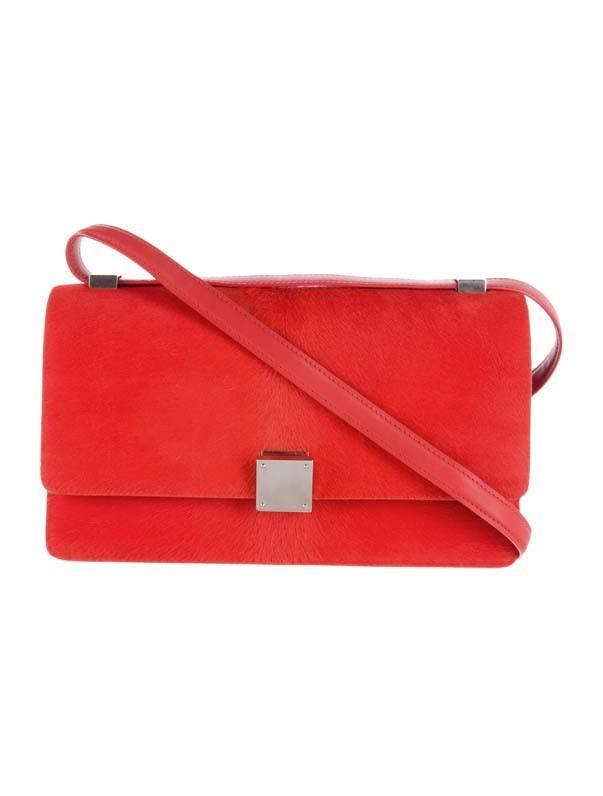 Céline Ponyhair Small Case Flap Bag
