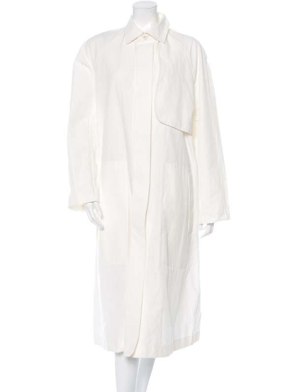 Hiuman Long-Line Button-Up Coat