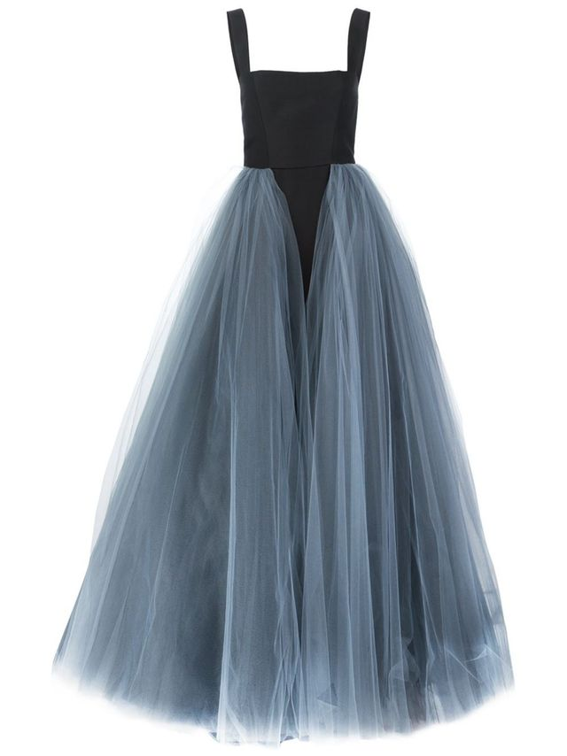 Christian Siriano Layered Tulle Gown