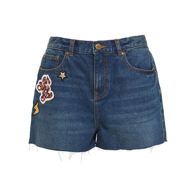 Sportsgirl Badge Shorts
