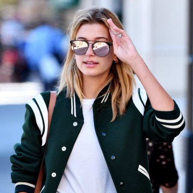 Hailey Baldwin Has Us All Excited for Denim Shorts Weather