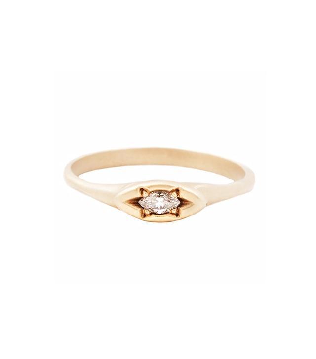 Rebecca Overmann Marquise Eye Ring