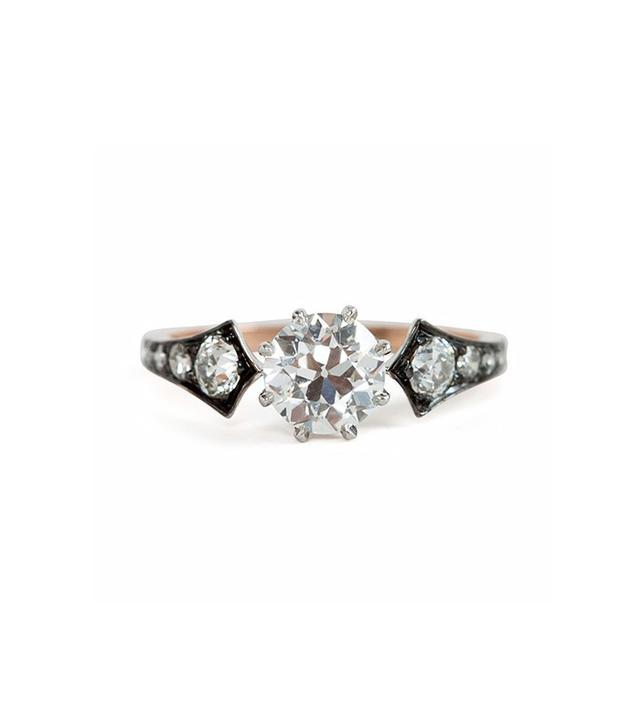 Erstwhile Diamond Wings Ring