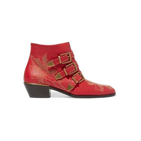 Susanna Stud Ankle Boots